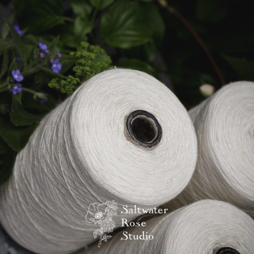 Mulberry silk / nettle 20/2nm1