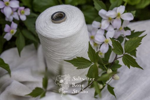 Mulberry silk 50% / rose viscose 50%