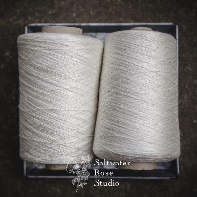 Spun mulberry silk 20/2 nm (1 of 5)