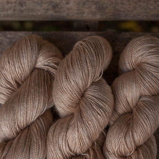 Baby Camel Silk Saltwater Rose weaving yarn instagram