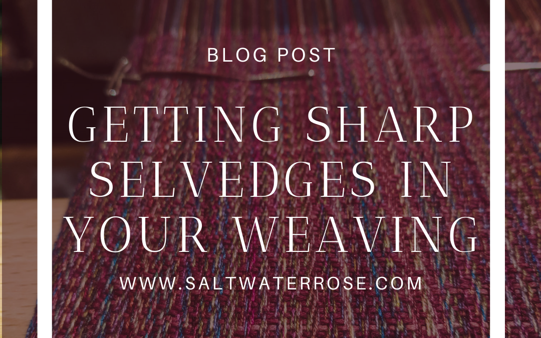 The big book of weaving straight selvedges